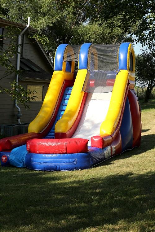 15ft Backyard Water Slide - Bounce Houses Omaha | Bounce ...