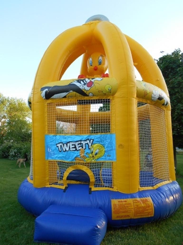 Tweety Bird Bouncer - Bounce Houses Omaha   Bounce Omaha   Bouncy Houses