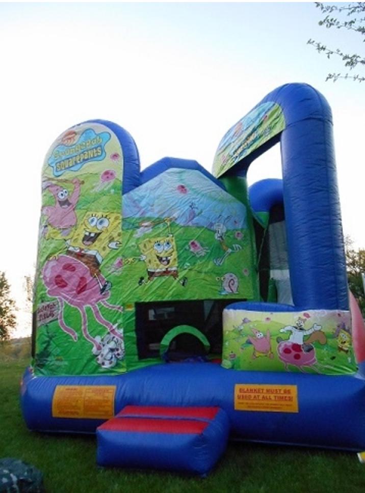Spongebob 5 In 1 Bounce Houses Omaha Bounce Omaha