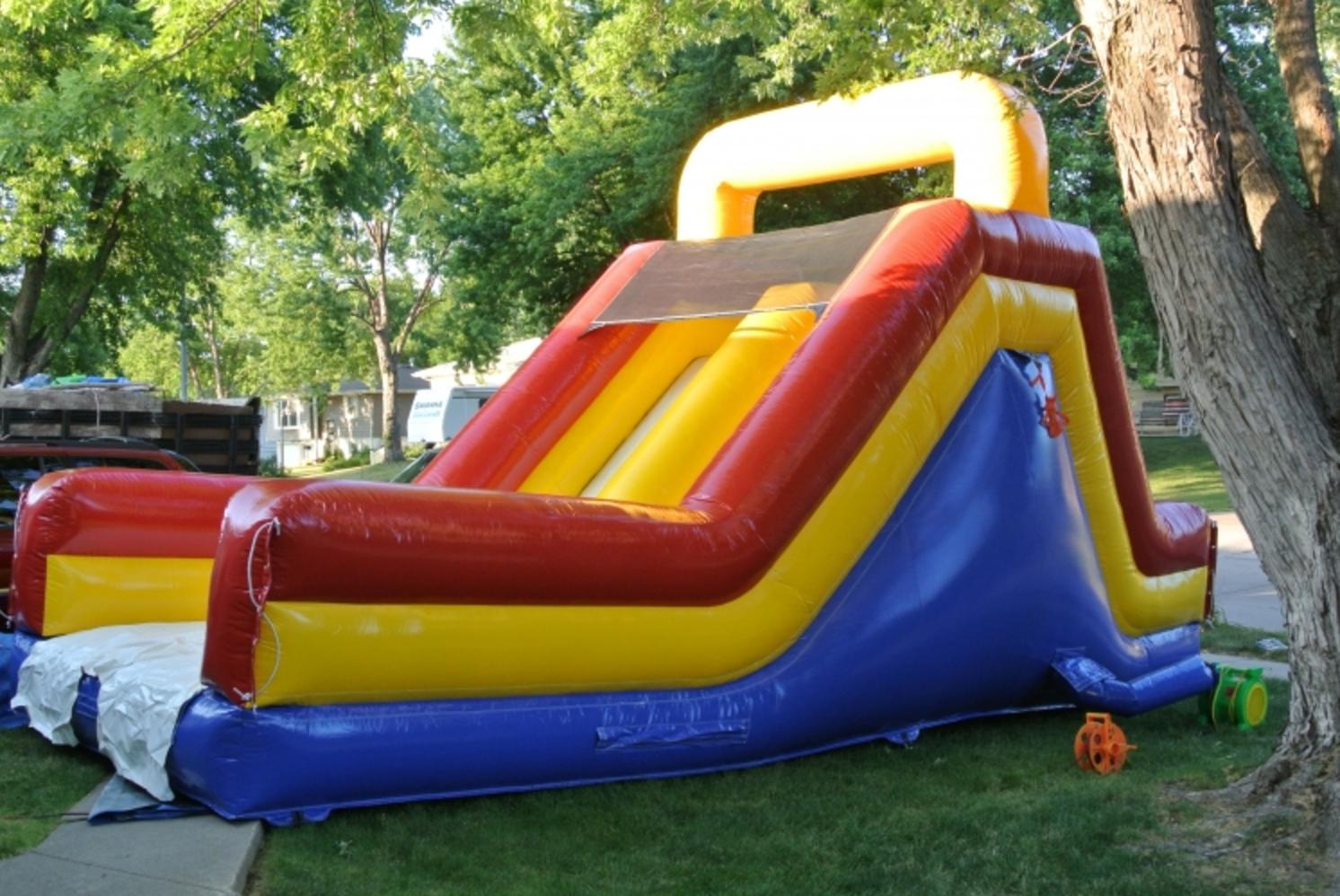 Rock Bouncer For Sale >> Rockwall Slide - Bounce Houses Omaha | Bounce Omaha ...