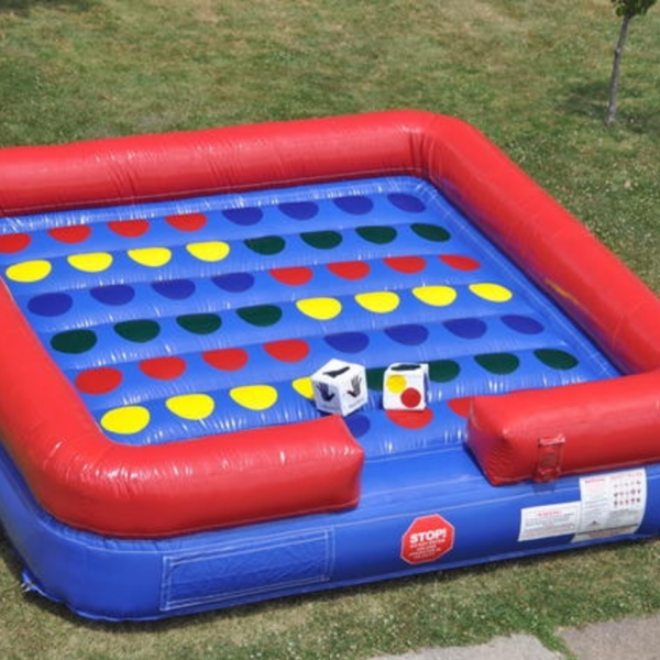 Pleasing Twister Inflatable Game Bounce Houses Omaha Bounce Omaha Bouncy Houses Interior Design Ideas Gentotryabchikinfo