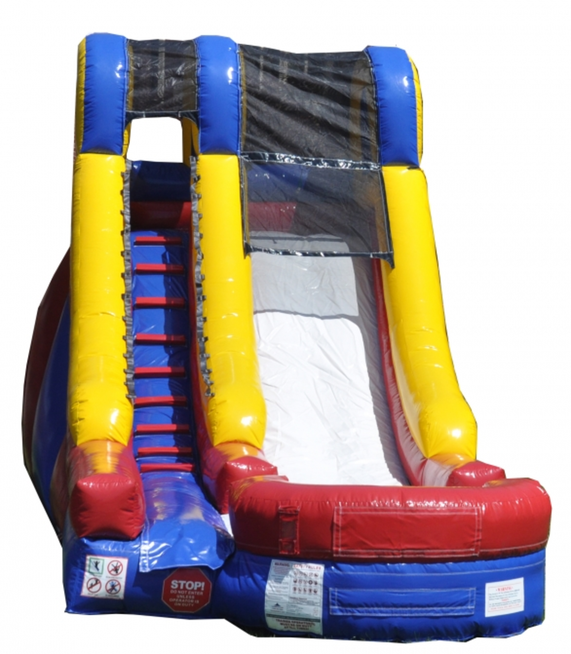 Inflatable Water Slide Safety Rules: 15ft Backyard Water Slide - Bounce Houses Omaha